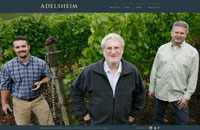 Adelsheim Vineyard home page