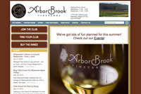 ArborBrook Vineyards home page