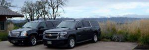 Luxury SUVs operated by Ron Wamala